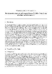 Radiointerferometrie auf langen Basen (VLBI - Very Long Baseline ...