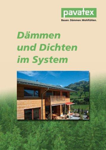 Dämmen und Dichten im System - Holzbau Desch