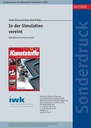 1003 In der Simulation vereint - IWK - HSR Hochschule für Technik ...