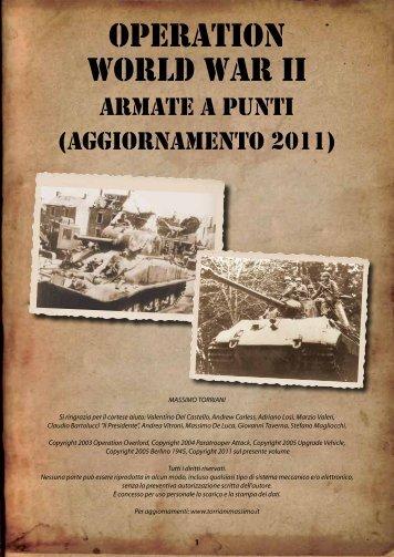 OPERATION World War ii - Torriani Massimo Games