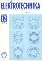 ROIEEHNIKA - Magyar Elektrotechnikai Egyesület