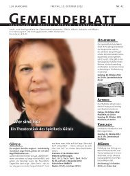 GBM2012 Woche 42 - Gemeinde Mäder