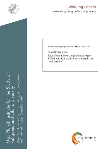 File 1 - Max Planck Institute for the Study of Religious and Ethnic ...