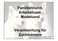 Familienhund... - BVWS- Landesgruppe OST