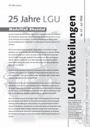 Umbruch Flattersatz - Liechtensteinische Gesellschaft für ...