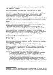 Vorschlag für einen Beitrag zur Mitgliederversammlung des ...