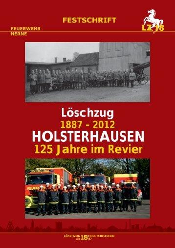 Festschrift in hoher Auflösung - Feuerwehr Herne