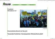 Tausende forderten: Konsequenter Klimaschutz jetzt! - Bund