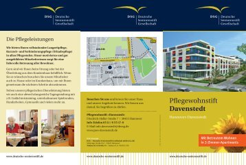 Broschüre als PDF - Pflegewohnstift Davenstedt