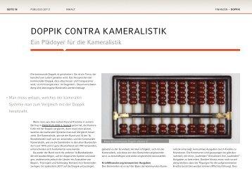 DoPPik contra kaMeralistik