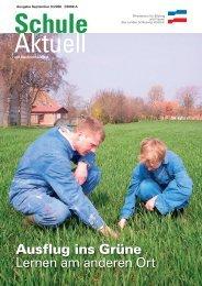 Ausflug ins Grüne - Grundschule Westensee