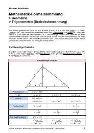 Dreiecke insgesamt - Michael-buhlmann.de