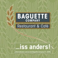 Baguette Company ... iss anders!