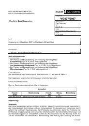 Beschlussvorlage - Vorlage V/0407/2007