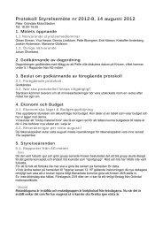Protokoll från styrelsemöte 8 2012 - SMC