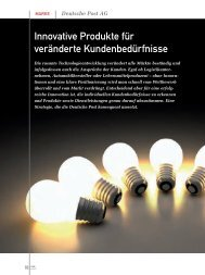 Innovative Produkte für veränderte Kundenbedürfnisse - marke41