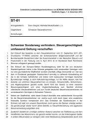 Schweizer Sonderweg verhindern ... - LDK Hagen 2012