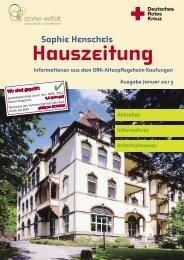 Sophie Henschels - DRK Altenpflegeheim Kaufungen