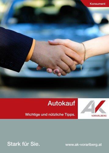 Autokauf - AK Basics