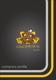 to download our company profile and portfolio - Couch Potato Media