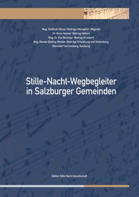 Stille-Nacht-Wegbegleiter in Salzburger Gemeinden