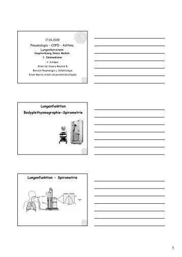 Lungenfunktion Bodyplethysmographie-Spirometrie Lungenfunktion ...