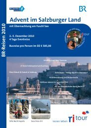 Advent im Salzburger Land - Bayern 1 Radioclub
