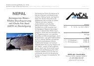 Annapurna-Naar- Tilicho Durchquerung mit Chulu ... - AMICAL alpin