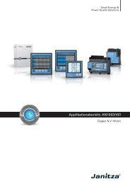 Applikationsbericht als PDF - Janitza Electronics GmbH
