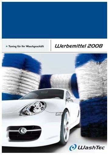 Werbemittel 2008 - WashTec