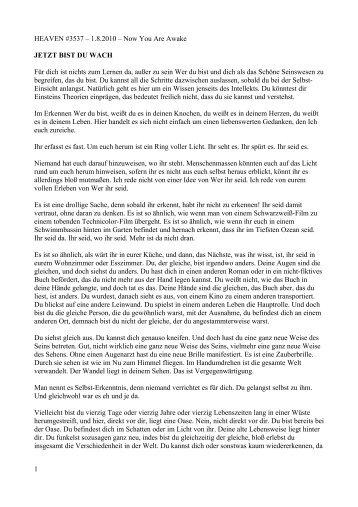 """HimmelsBriefe Monat 8 10.pdf - MATERIALIEN zu """"Gespräche mit ..."""