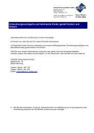 Psychosoziale Prävention - Forum Verlag Herkert GmbH