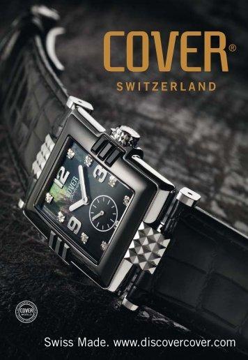 Swiss Made. www.discovercover.com - Royal Caro