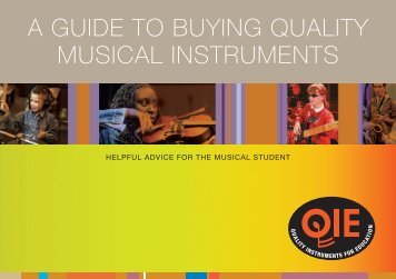Quality Instruments for Education - Music Industries Association