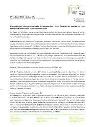Pressemitteilung EU-Projekt In between Out - Galerie Art Cru Berlin