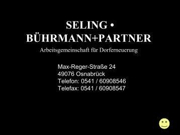 SELING • BÜHRMANN+PARTNER - Gemeinde Wallenhorst