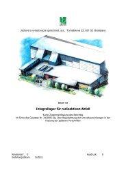 Integrallager für radioaktiven Abfall - Umweltbundesamt