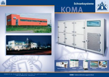 Herzlich Willkommen bei KOMA Kältekonditionierungstechniken ...