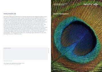 Infobroschüre Farbsystem - Inoutic