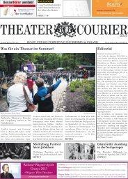 Editorial Was für ein Theater im Sommer! - theatercourier