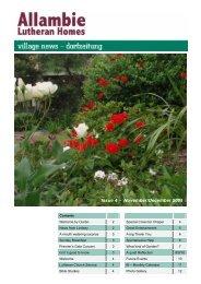 Issue 4 – November/December 2008 - Allambie Heights Village
