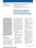 Diagnose von Schwindel mit besonderem Blick auf ... - Seite 2