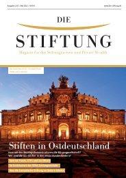 Stiften in Ostdeutschland - LOYS AG