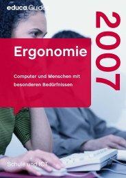 Ergonomie - Guides - Educa