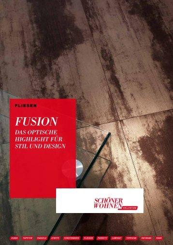 SCHÖNER WOHNEN, Serie Fusion - Fliesen, Naturstein, Ambiente