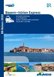 Bayern – Istrien Express - Bayern 1 Radioclub