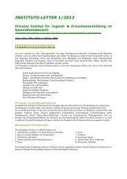 Histaminunverträglichkeit