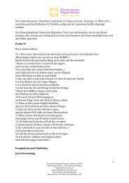 Texte - Rogate-Kloster Sankt Michael zu Berlin