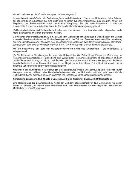 Weitergeltung der Anlage 8 AVR - ARK Bayern