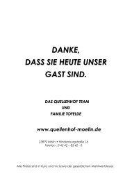 Unsere Speisekarte als PDF - Quellenhof